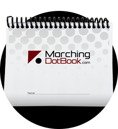 Custom Marching Dot Book